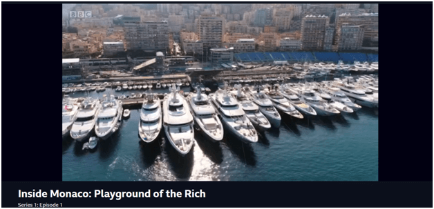 Streaming Inside Monaco: Playground of the Rich on PureVPN Maidenhead server