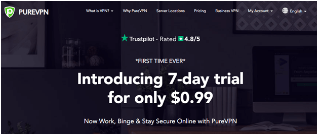 PureVPN is one of the best Hotstar VPNs for Australia