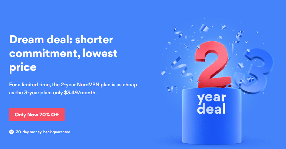 NordVPN is one of the best Hotstar VPNs for Australia